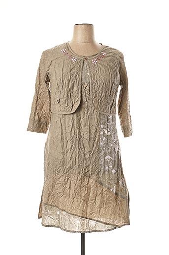 Veste/robe vert AGATHE & LOUISE pour femme