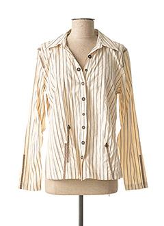 Veste casual beige LEWINGER pour femme
