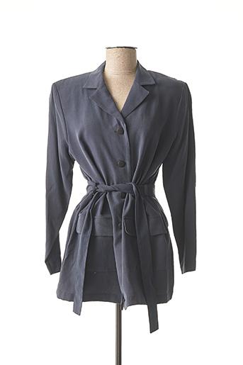 Veste casual bleu LEWINGER pour femme
