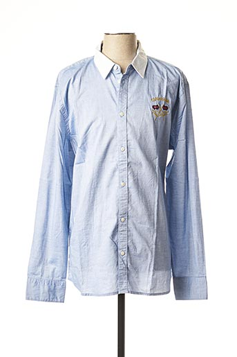 Chemise manches longues bleu PEPE JEANS pour homme