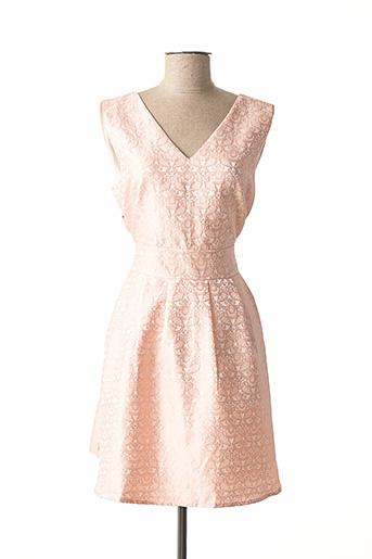 Robe courte rose F &  P pour femme