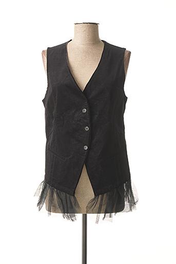 Veste casual noir MYRINE & ME pour femme
