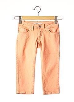 Bermuda orange TIFFOSI pour femme