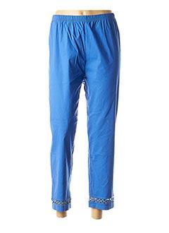 Pantalon 7/8 bleu CONCEPT K pour femme