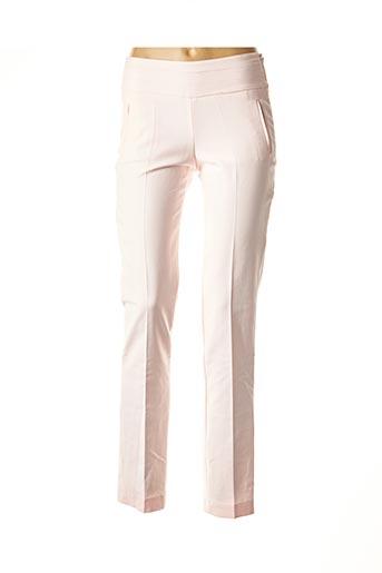 Pantalon chic rose BANDOLERA pour femme