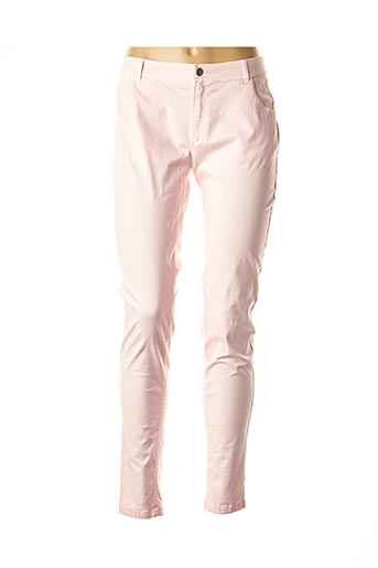 Pantalon casual rose AKELA KEY pour femme