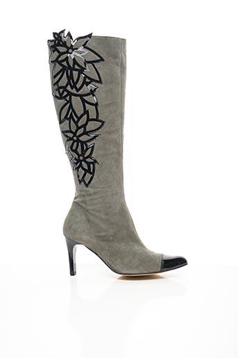 Bottes gris AZUREE pour femme