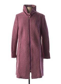 Manteau long rose BEST CONNECTIONS pour femme
