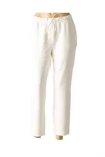 Pantalon casual blanc HEINE pour femme
