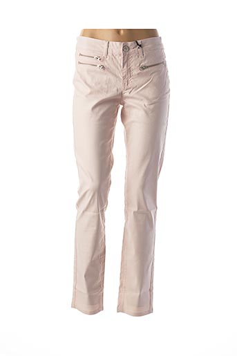 Pantalon casual rose TRAVEL COUTURE BY HEINE pour femme