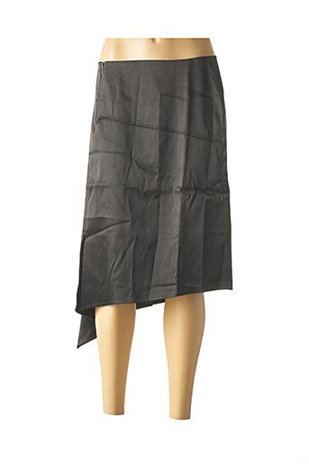 Jupe mi-longue noir HEINE pour femme