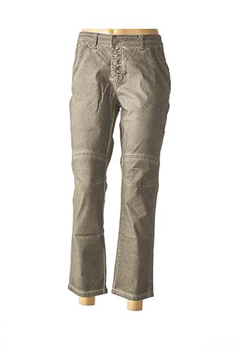 Pantalon casual gris HEINE pour femme