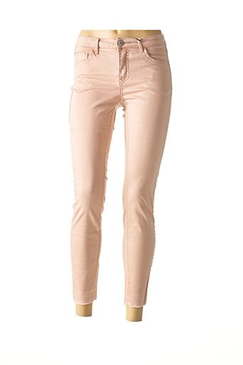 Pantalon casual rose BEST CONNECTIONS pour femme