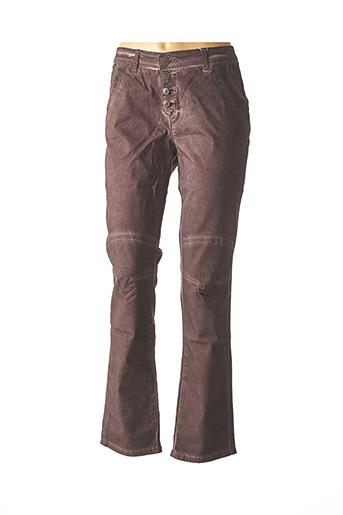 Pantalon casual rouge HEINE pour femme