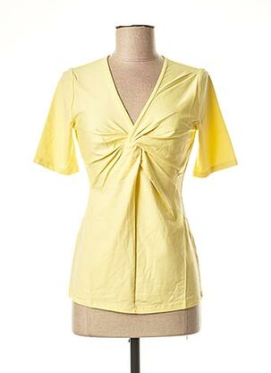Top jaune HEINE pour femme