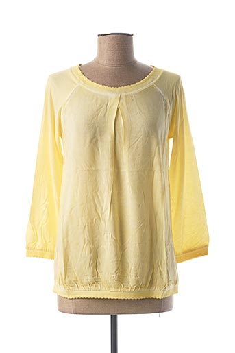 Blouse manches longues jaune HEINE pour femme