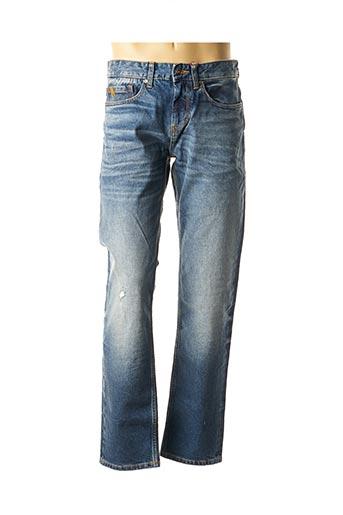 Jeans coupe droite bleu S.OLIVER pour homme