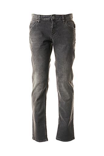 Jeans coupe slim gris S.OLIVER pour homme