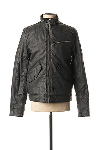 Manteau court noir KAPORAL pour homme