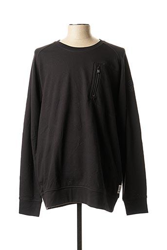 Sweat-shirt noir S.OLIVER pour homme