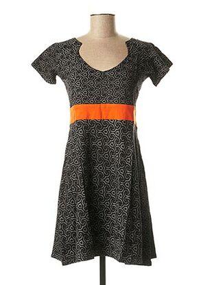 Robe courte noir BAMBOO'S pour femme