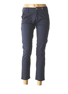 Pantalon casual bleu FIVE pour femme