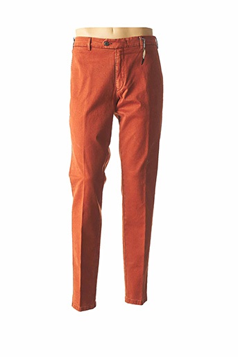Pantalon chic orange MMX pour homme