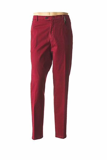 Pantalon chic rouge MMX pour homme