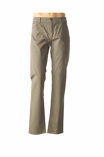 Pantalon casual vert TRUSSARDI JEANS pour homme
