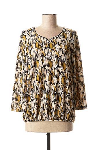 T-shirt manches longues beige RENATTO BENE pour femme