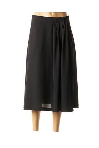 Jupe mi-longue noir ANA SOUSA pour femme