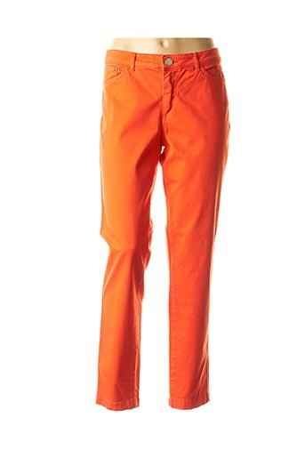 Pantalon casual orange ANA SOUSA pour femme