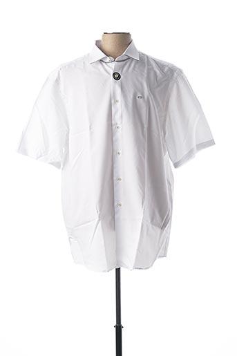 Chemise manches courtes blanc CARLOS CORDOBA pour homme