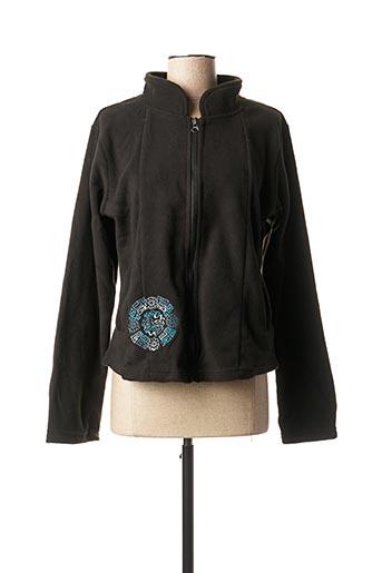 Veste casual noir ALLER SIMPLEMENT pour femme