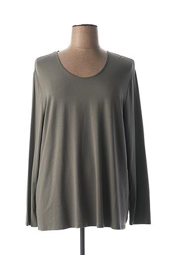 T-shirt manches longues gris DORIS STREICH pour femme