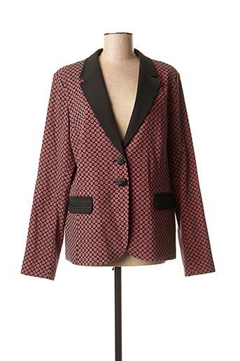 Veste chic / Blazer rouge DIVAS pour femme