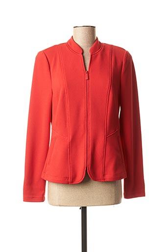 Veste chic / Blazer rouge FRANK WALDER pour femme