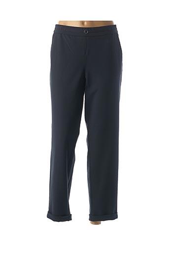 Pantalon 7/8 bleu FRANK WALDER pour femme