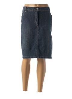 Jupe mi-longue bleu BRANDTEX pour femme