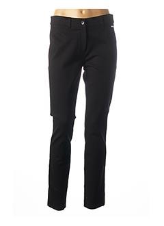 Pantalon casual noir MAE MAHE pour femme