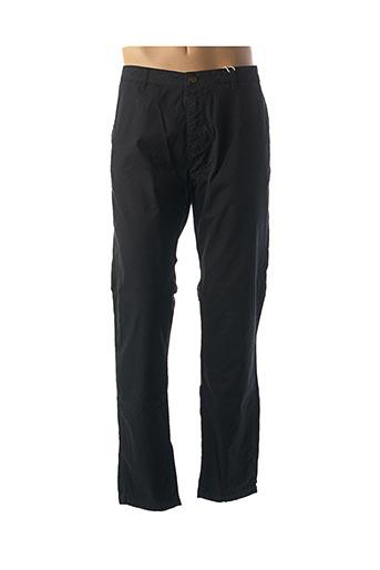 Pantalon casual noir GIORGIO MAN pour homme