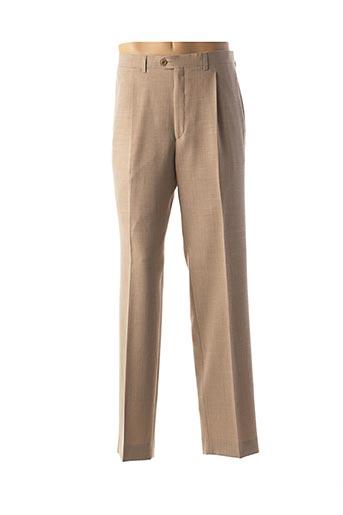 Pantalon casual beige BUCCINO pour femme