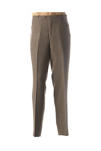 Pantalon casual beige BUCCINO pour homme