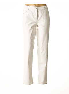 Pantalon casual blanc ATELIER GARDEUR pour femme