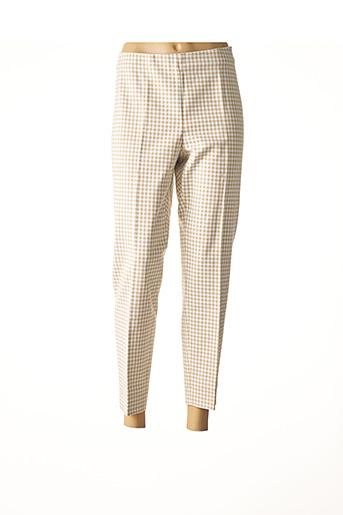Pantalon 7/8 beige ATELIER GARDEUR pour femme