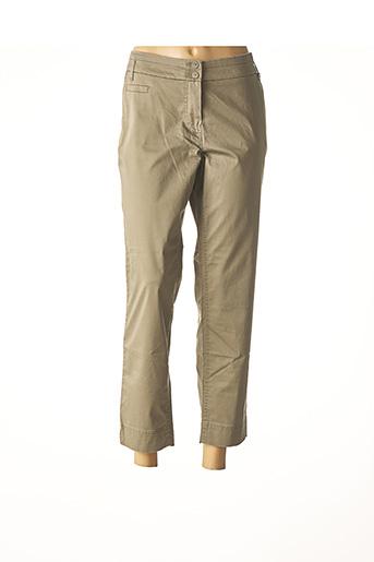 Pantalon 7/8 marron ATELIER GARDEUR pour femme