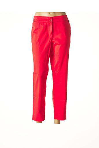 Pantalon 7/8 rouge ATELIER GARDEUR pour femme