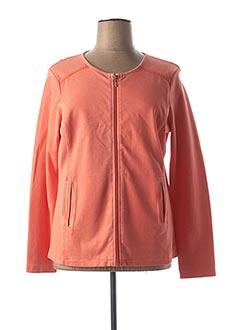 Veste casual orange MAE MAHE pour femme