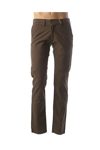 Pantalon casual marron CAMBE pour homme