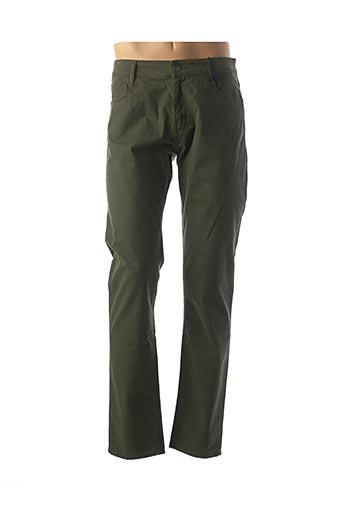 Pantalon casual vert REDMAN pour homme
